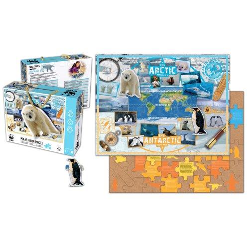 Polar Regions 48 piece Floor Puzzle - WWF
