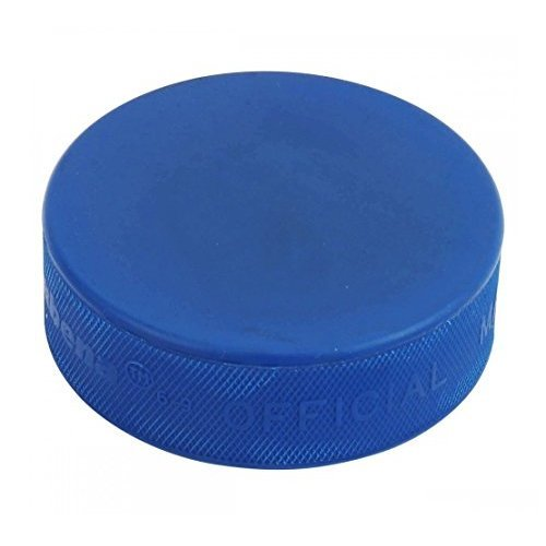 A R Sports Official 4 Oz Blue Mite Junior Ice Hockey Puck