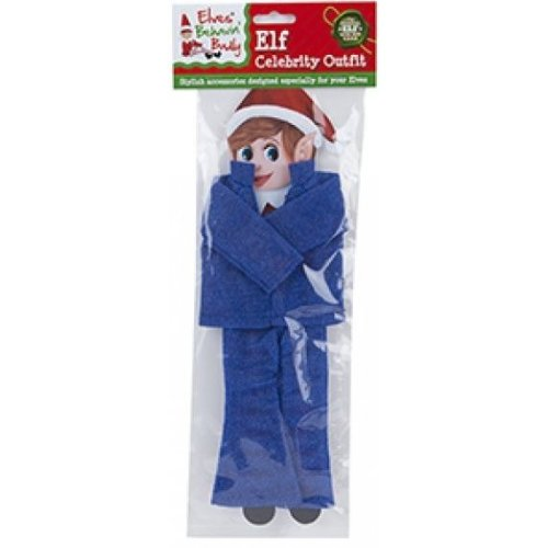 Elves Behavin Badly - Elf Glitter Celebrity Outfit - Blue