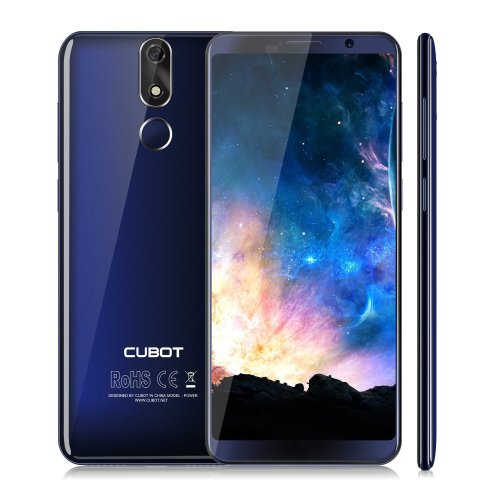 Cubot Power (2018) Android 8.0 Dual 4G Smartphone Unlocked, 5.99 Inch (18: 9) FHD+ 1080P 6GB RAM+128GB ROM Mobile Phone, with 6000mAh Big Battery...