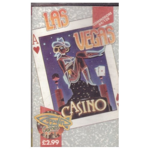 Las Vegas Casino for Commodore 64 from Zeppelin Games (C046)
