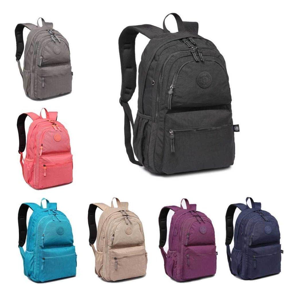 aaf68611a50e KONO Unisex Backpack Boys Girls School Bag