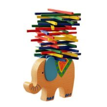 The Color Bar Balance Beam Children Puzzle Game Elephant Balance Beam