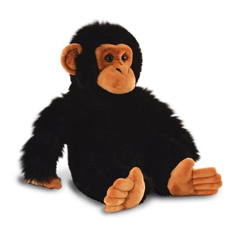 30cm Chimp Soft Plush Toy - Keel Chimpanzee Toys Monkey Sw3647 Wild Cuddly -  chimp toy keel chimpanzee soft toys plush 30cm monkey sw3647 wild cuddly