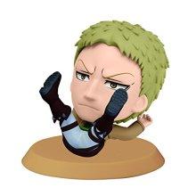 Banpresto Attack on Titan 2.4-Inch Reiner Chibi-Kyun-Chara Figure, Training Version