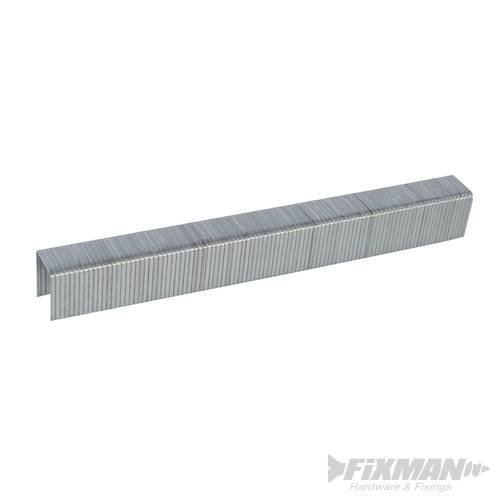 Fixman 10j Galvanised Staples 5000pk 11.2 x 14 x 1.16mm