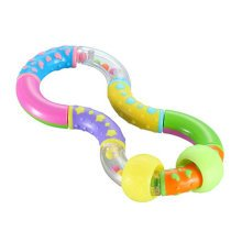 Baby Early Childhood Toys Baby Hand Bell Safety Education Gift (Magic)