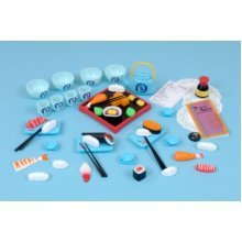 Childrens 52 Piece Japanese Food Play Set (A1433)