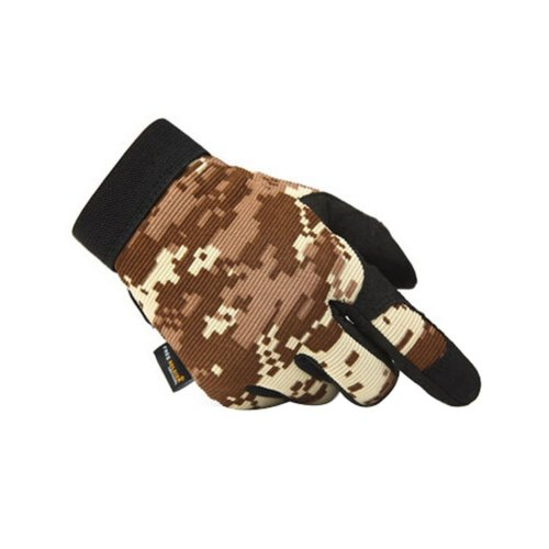 [Digital Desert] Wear-resistant Rock Climbing Hunting Gloves, L
