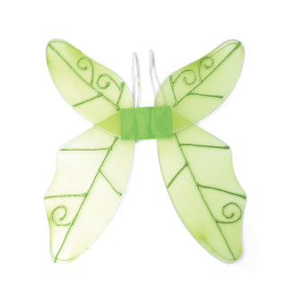Bristol Novelty Adults Unisex Green Butterfly Wings
