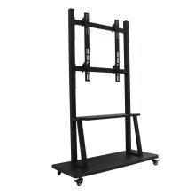 "Homcom Tv Mobile Stand 42"" -70"" Tv Floor Stand with Mounting Bracket & Shelf"