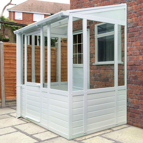 UPVC Sheltered Lockable Porch | UPVC Porch