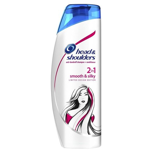 Head & Shoulders Anti-Dandruff 2-In-1 Shampoo & Conditioner Smooth & Silky 450ml
