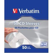Verbatim CD Sleeves 50pk