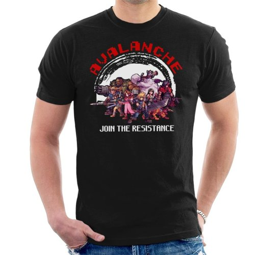 Avalanche Join The Resistance Final Fantasy VII Men's T-Shirt