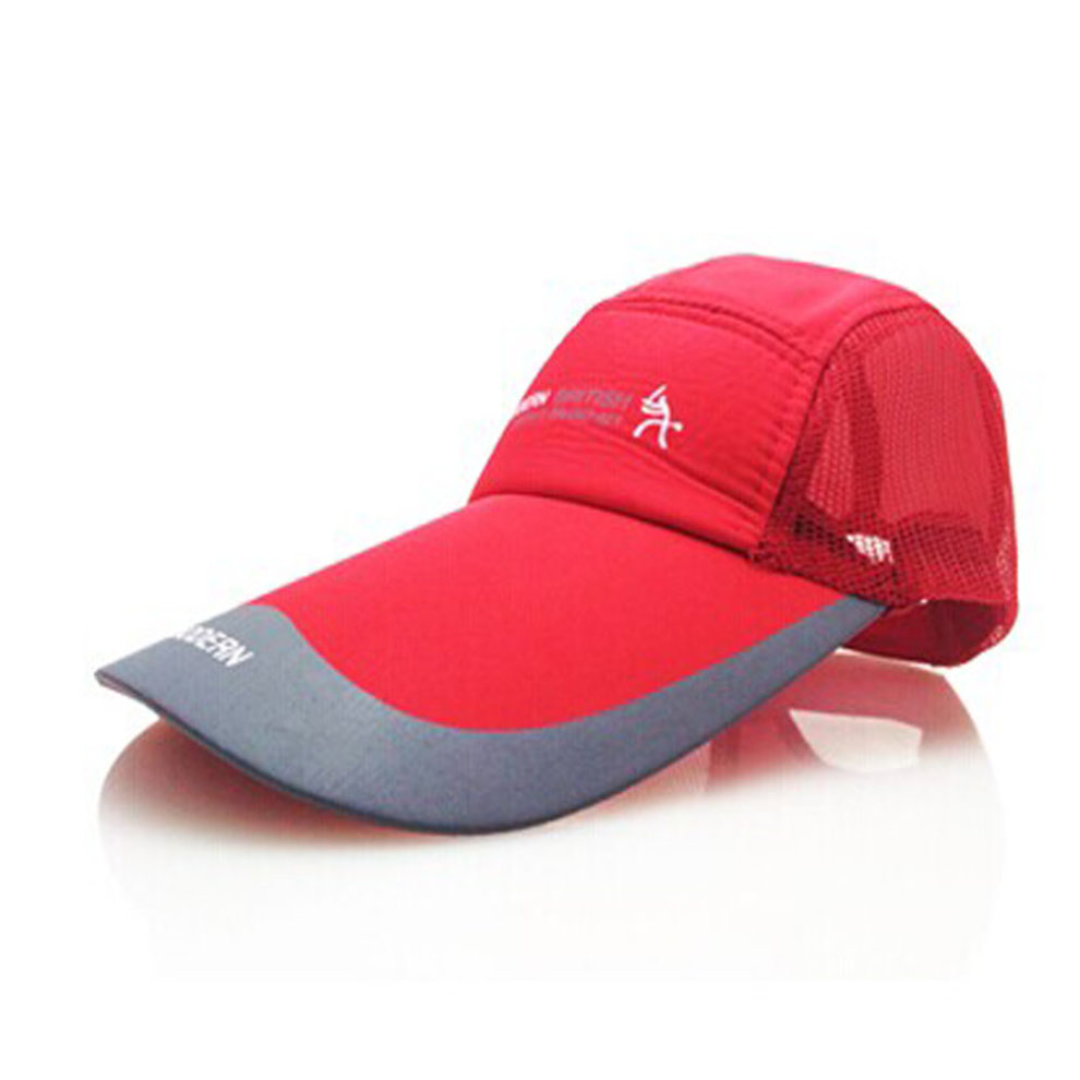 a7fccf3c3d8 Men s Women s Baseball Cap Running Outdoor Sports Hat Adjustable Cap (red)  on OnBuy