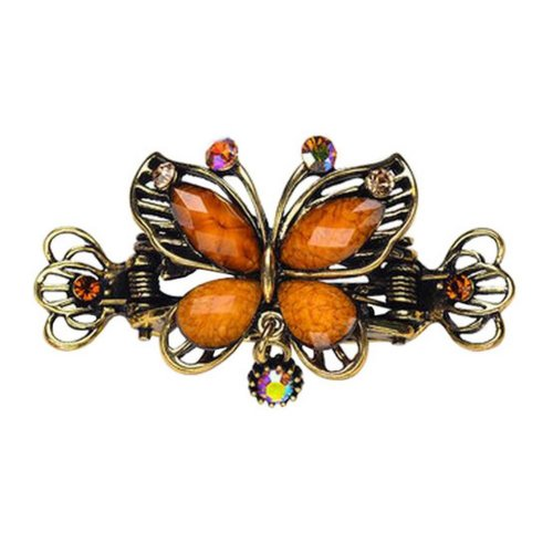 Chinese Design Hair Claws/Clips Vintage Hair Barrettes, Butterfly Clips, C