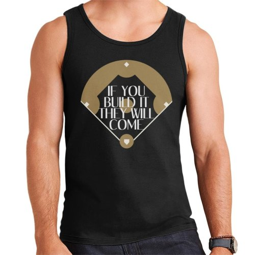 If You Build It They Will Come Field Of Dreams Men's Vest