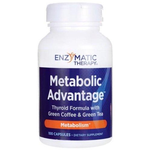 Enzymatic Therapy  Metabolic Advantage - 100 caps
