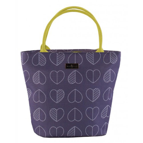 Beau & Elliot Confetti Outline Midnight Insulated Lunch Tote