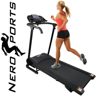 BLUETOOTH Nero Sport Manual Incline Folding Running Machine Treadmill