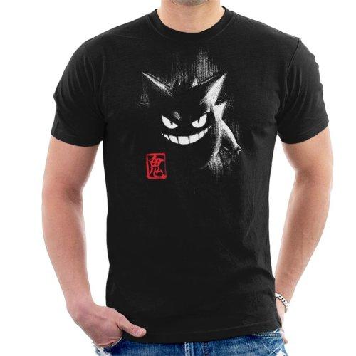 Pokemon Gengar Ink Men's T-Shirt