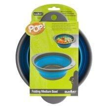 Summit Pop Medium Bowl. -  summit collapsible bowl dish folding popup medium 20cm purple camping new