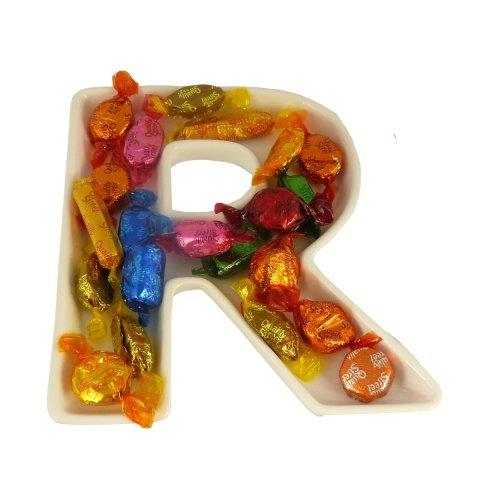R Alphabet Dish
