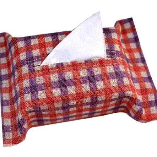 Creative Pattern Cloth Toilet Paper Tissue Holder Storage Box Multicolor