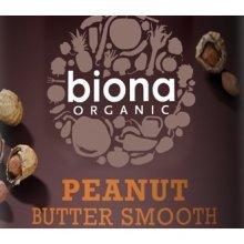 Biona Organic Peanut Butter Smooth 1kg