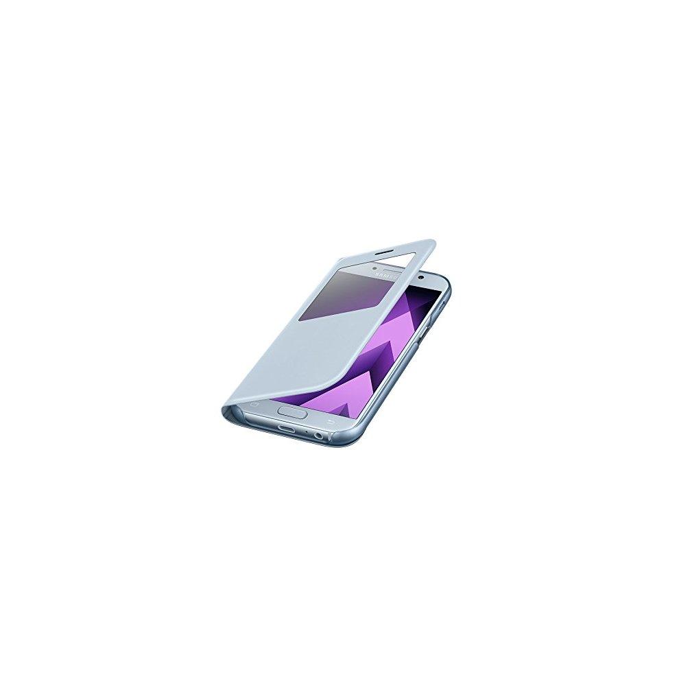 huge discount 45e1b ced48 Samsung EF-CA520PLEG Original S View Cover for Galaxy A5 2017 - Blue