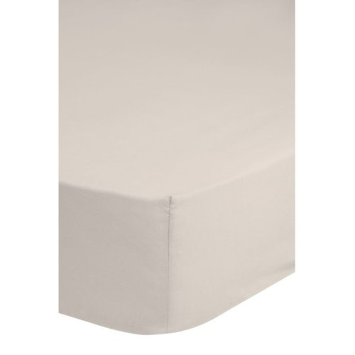 Emotion Non-iron Fitted Sheet 80x200 cm Sand 0220.06.41