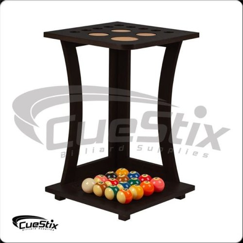 Cuestix International FRD9 CHOCOLATE 9 in. Floor Cue Rack - Chocolate