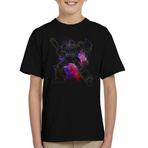 Megatron Spray Transformers Kid's T-Shirt