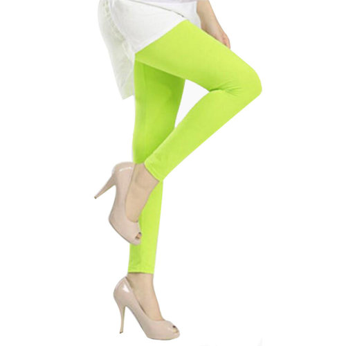 Golf Clothing Golf Pants Sport Leggings Womens Golf Clothes Tights Yellow Green