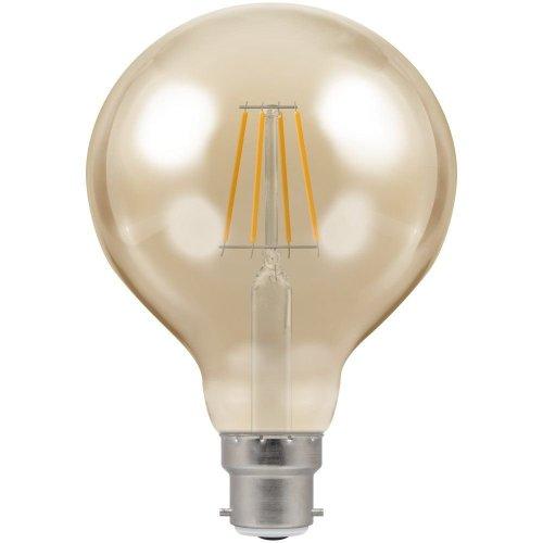 Crompton Lamps LED Light Bulb Antique-Bronze Filament, B22d, 5 W