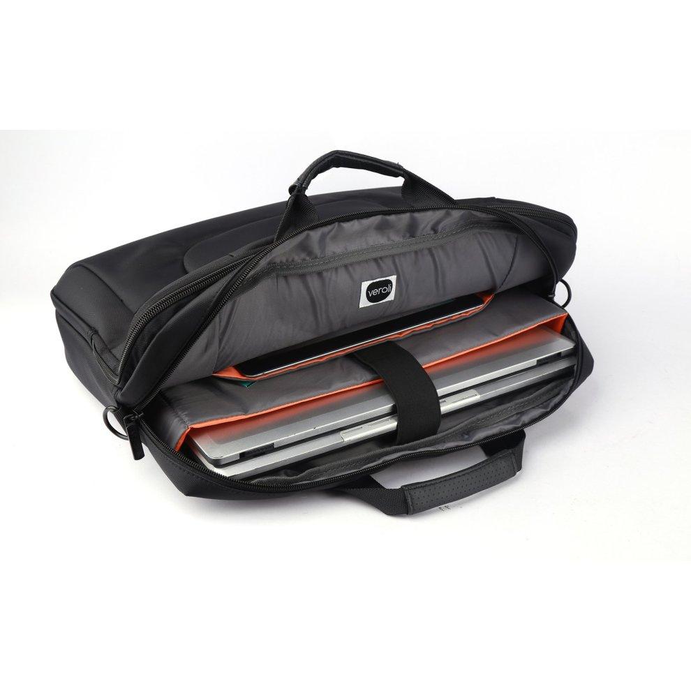 b9211aba45f1 Laptop Shoulder Bag 15.6 Inches Black - Mens Messenger Bag Laptops Computer  Carry Case 15.6