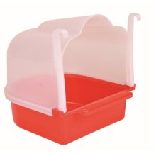 Small Bird Bath 15×17×18 Cm, Ideal For: Canary, Finch Or Budgie - Colours -  colours trixie cm bath bathhouse halfround 161719 different small bird
