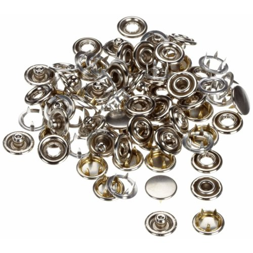 Metal 9.3 x 5.7 x 0.7 cm Prym Sewing Machine Needles Silver