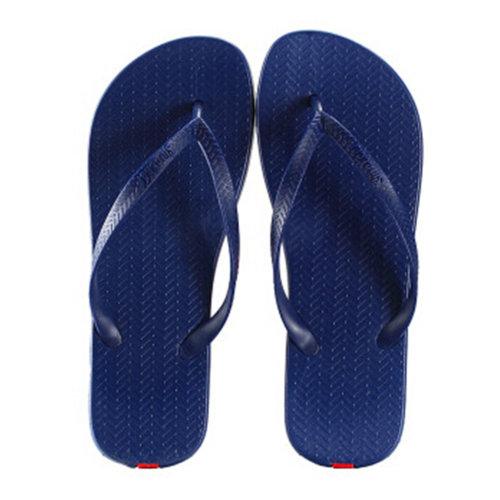 Unisex Casual Flip-flops Beach Slippers Anti-Slip House Slipper Navy