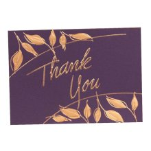6 Pcs Premium Greeting Card Holiday Greeting Card Business Thank You Card [E]