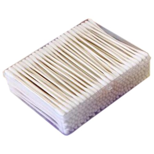 200 PCS Safety Cotton Swabs Double Tipped Cotton Buds Multipurpose Cleaning Sticks #29
