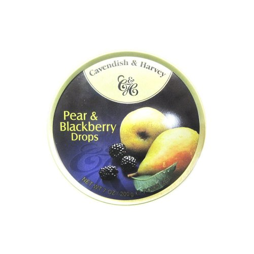 Cavendish & Harvey Pear & Blackberry Drops, 7 oz.
