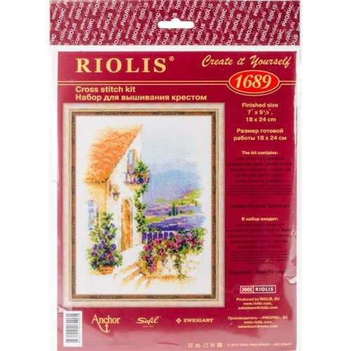 Riolis R1689 Provence Street Counted Cross Stitch