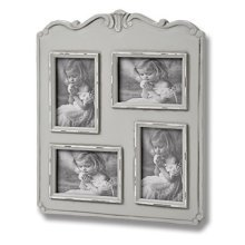 Fleur 4 Picture 4 x 6 Photo Frames -  fleur 4 picture multi photo frame holds several special occassion one
