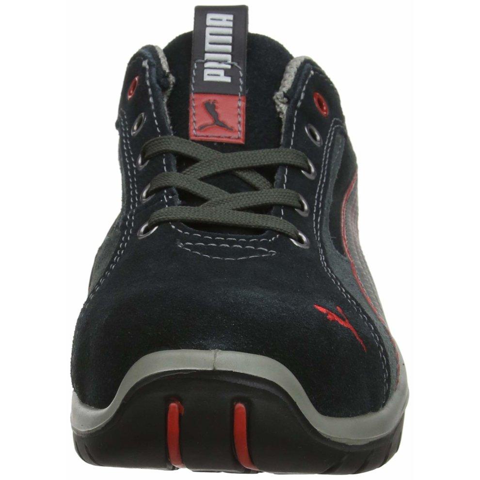 Puma Safety safety shoes Dakar low 64.268.0 low shoes S1P HRO SRC, 42 EU, grey EN safety certified