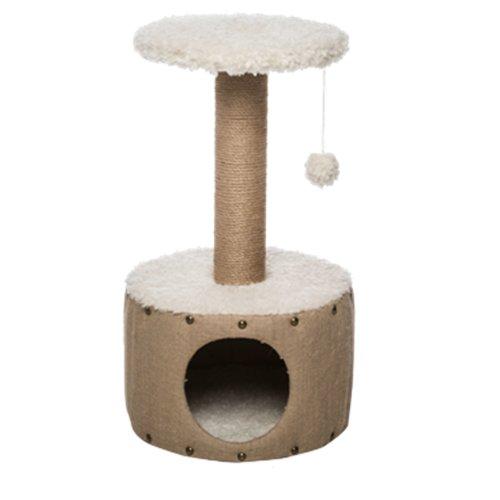 Gor Pets Cat Scratcher EasyFix Hut (39x39x67cm) Beige CS32