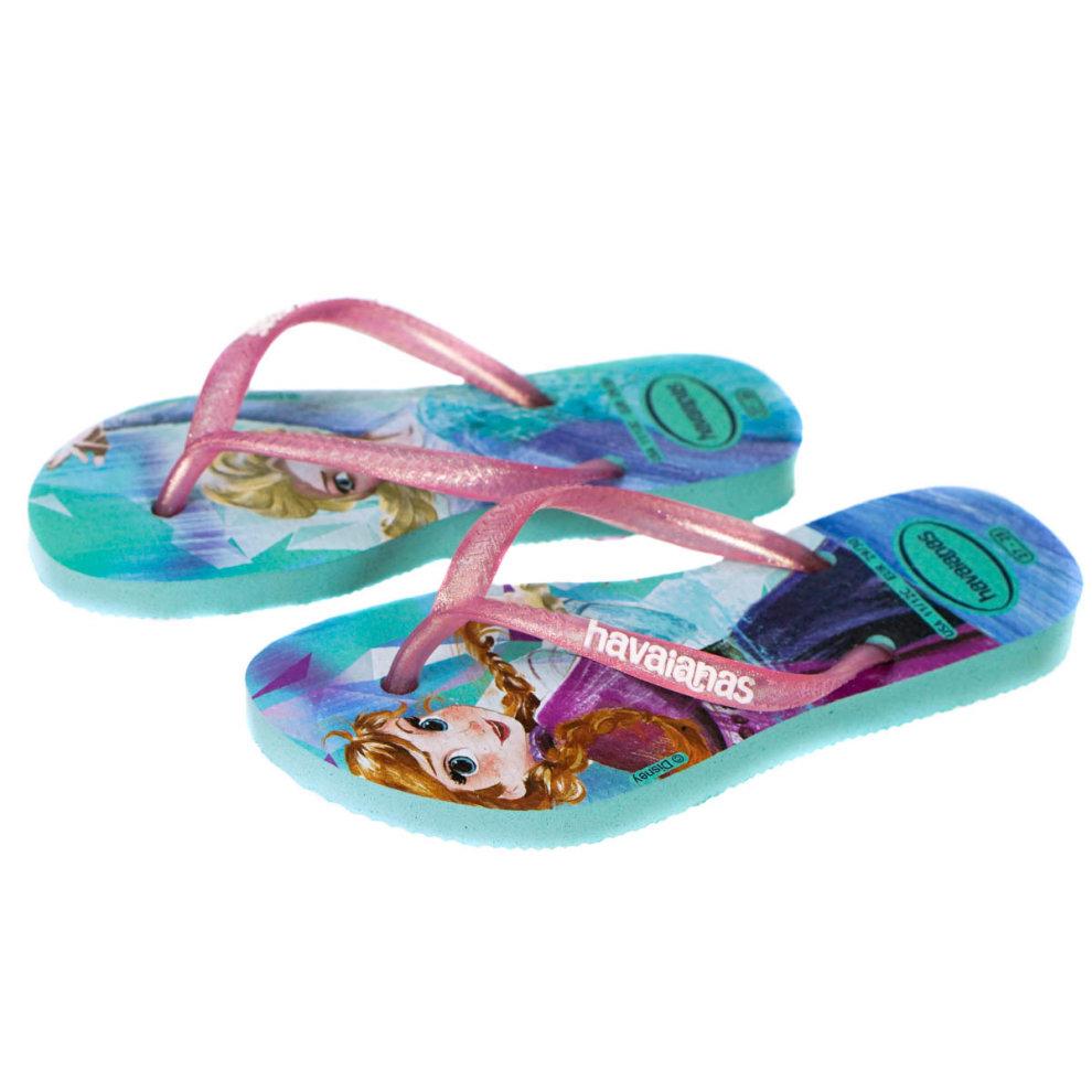 72fcedb76 Havaianas Girls Frozen Flip Flops Size 10 11 on OnBuy