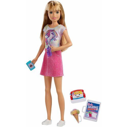 Barbie FXG91 Skipper Babysitters INC Unicorn - Doll and Accessories