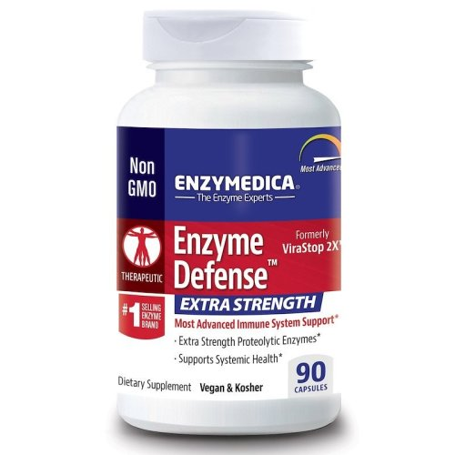 Enzymedica, Enzyme Defense, Extra Strength, 90 Capsules